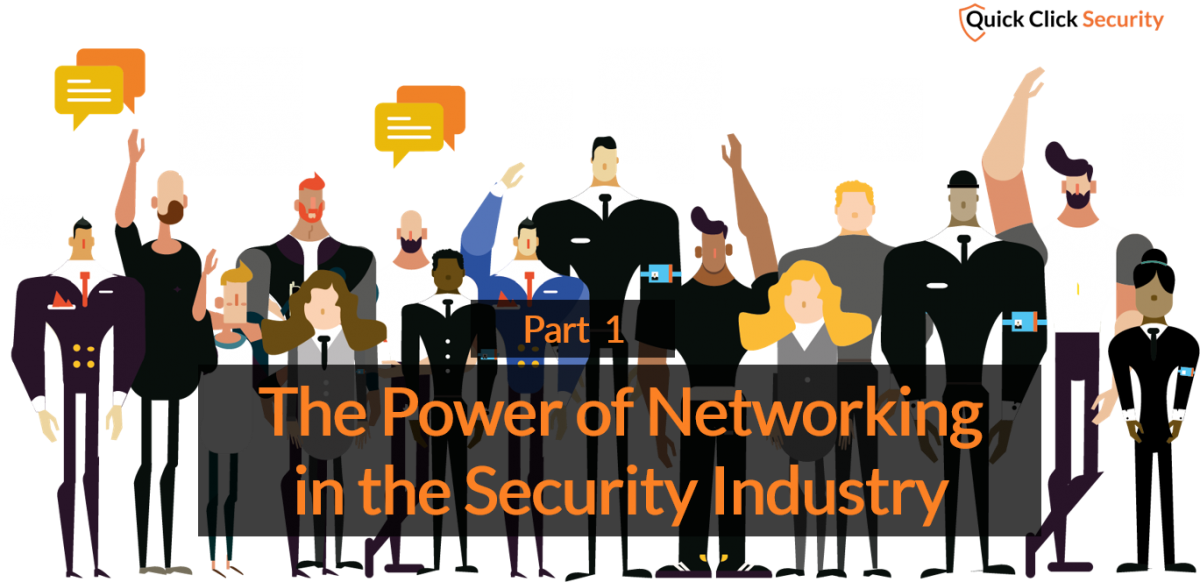 Networking, events and how to get ahead in the security industry