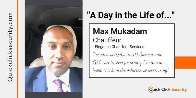 max mukadam chauffeur