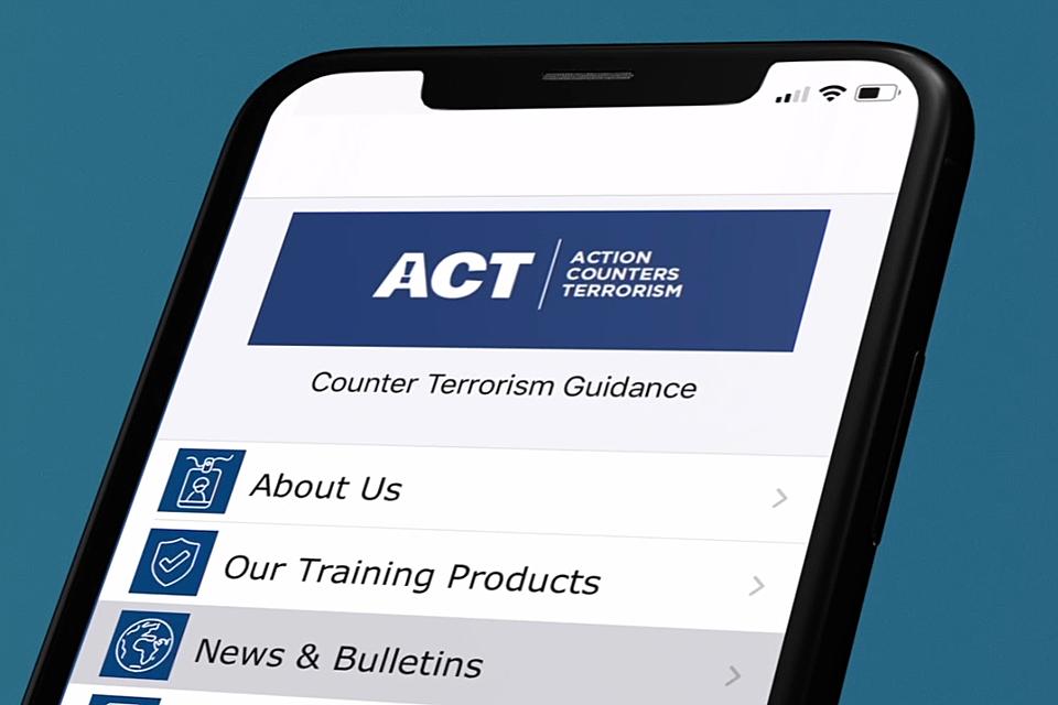 ACT app gov.uk